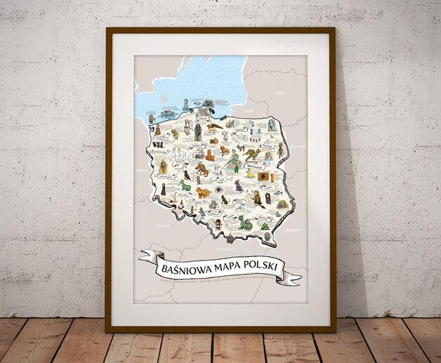plakat-mapa-polski