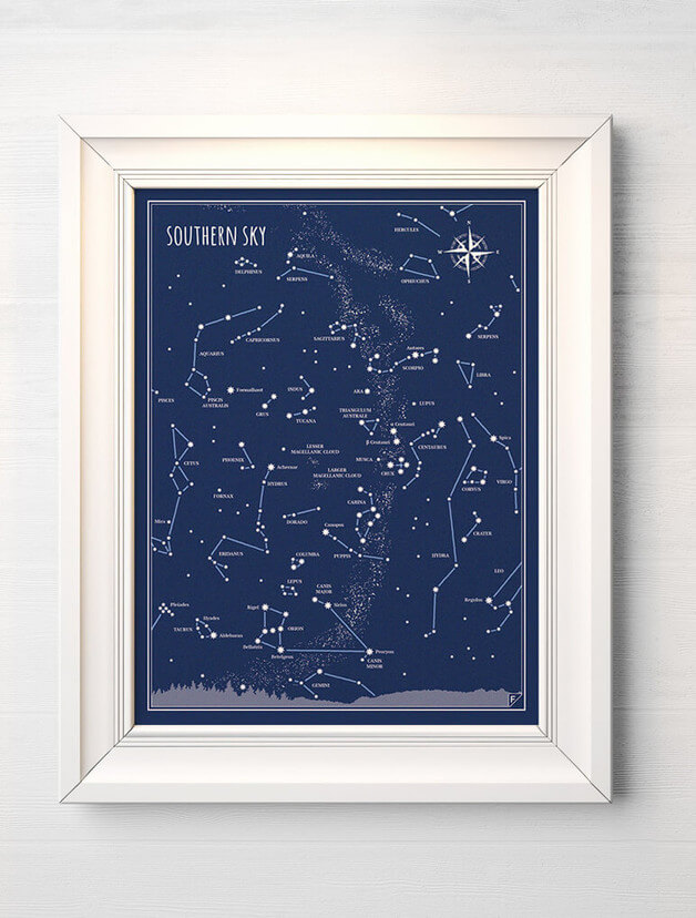 plakat-niebo-gwiazdy