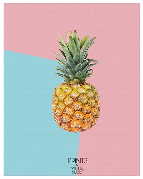 ananas-dżungla-plakat