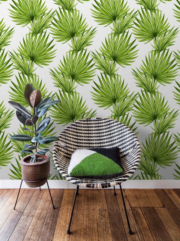 tapeta-palmy-greenery-kolor-roku