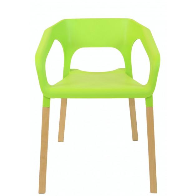 zielone-krzesło-fluo-limonka-greenery-kolor-roku