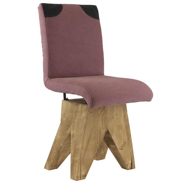 krzesło-na-drewnianej-bazie-brudny-róż
