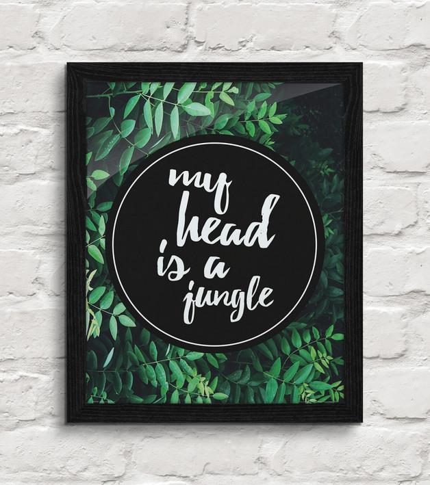 plakat-dżungla-ciemna-zieleń-natura