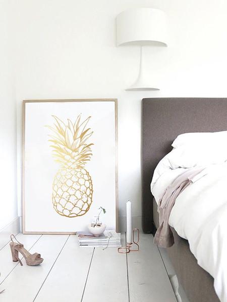 złoty-ananas-plakat-inspiracja