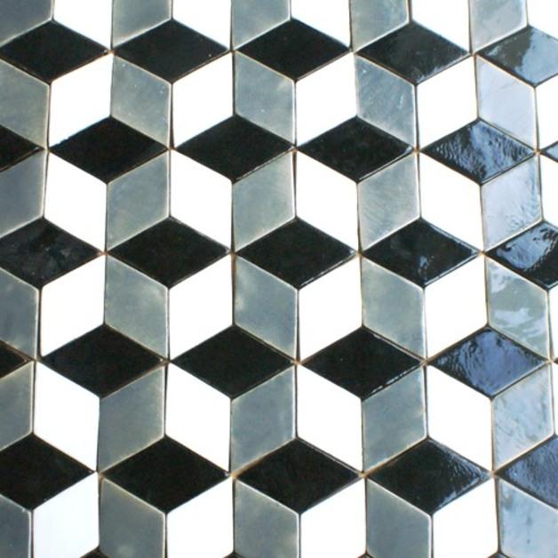 kafle płytki kafelki inspiracja patchwork wnętrza podłoga