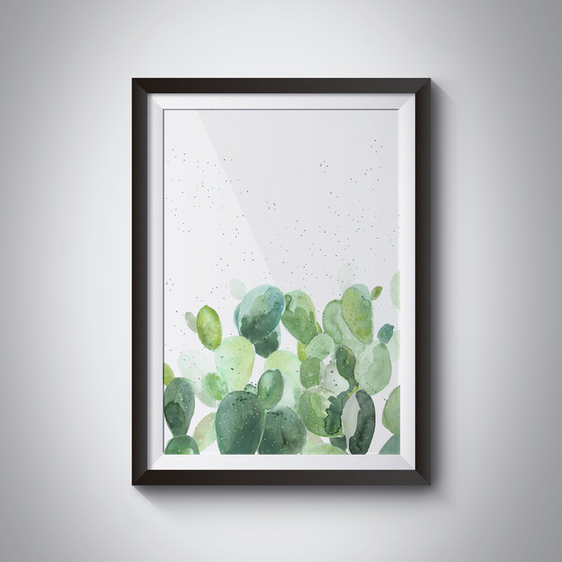 obraz-plakat-kaktus-wnętrze-pustynia-dom-dodatek