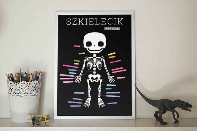 plakat szkielet