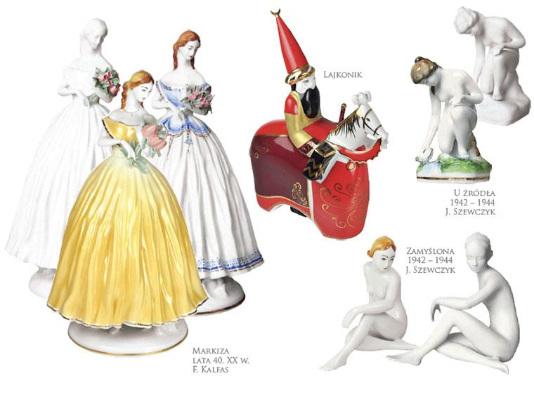 figurki ćmielowskie