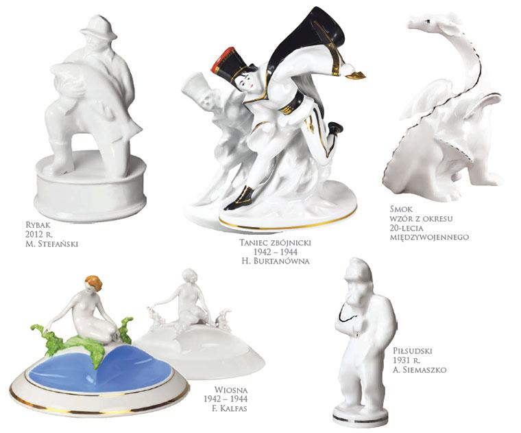 figurki ćmielów