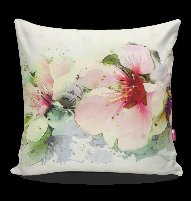 poduszka w kwiaty