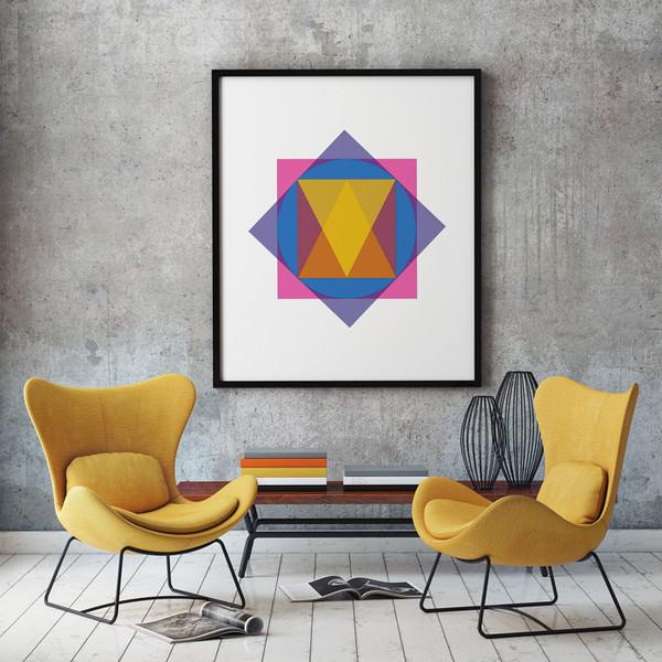 obraz geometryczny