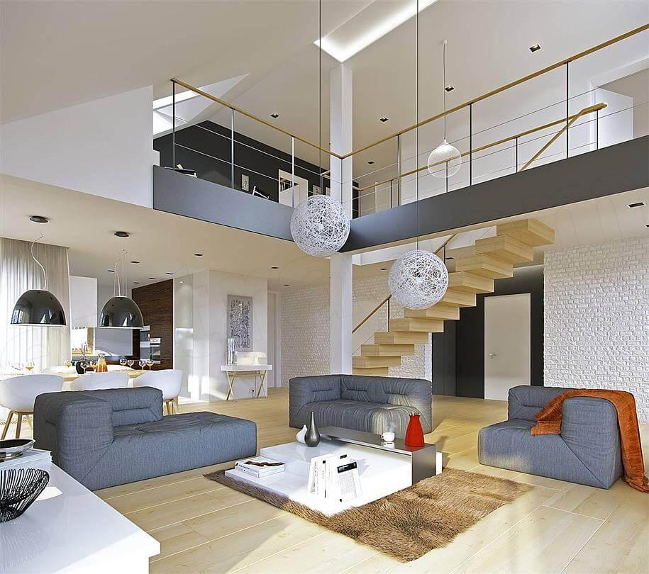 antresola projekt domu doskonały 3