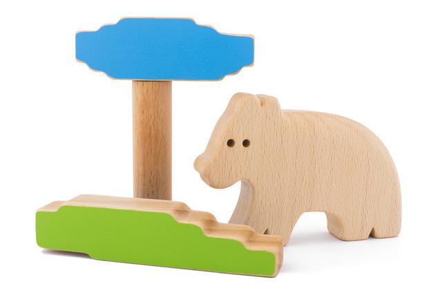drewniane układanki, ekologiczne zabawki