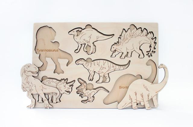 drewniana układanka