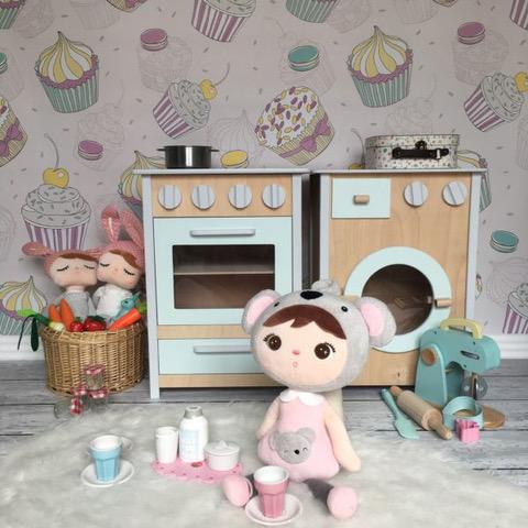 kuchenka i pralka drewniana dla dzieci