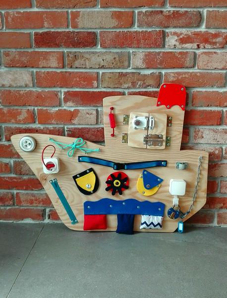 DaWanda dla drewniany statek ekologiczne zabawki