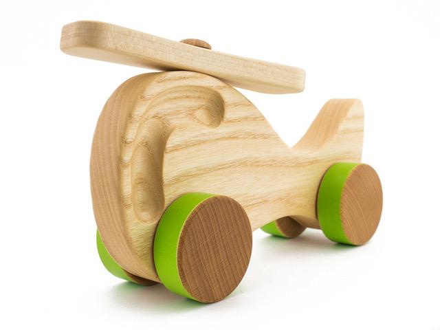 drewniany samolot dla dzieci