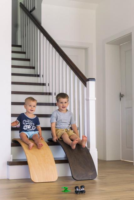 domowa zjeżdżalnia dla dziecka