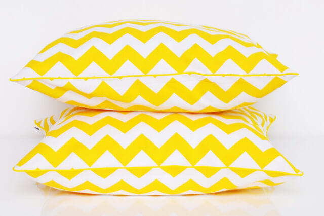 wzór kolor żółty