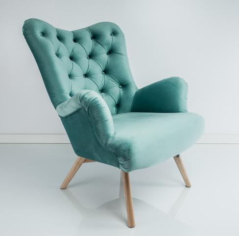 Zwykłe rzeczy - zielony fotel