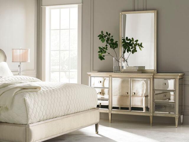 luksusowa-sypialnia-jasne-łóżko