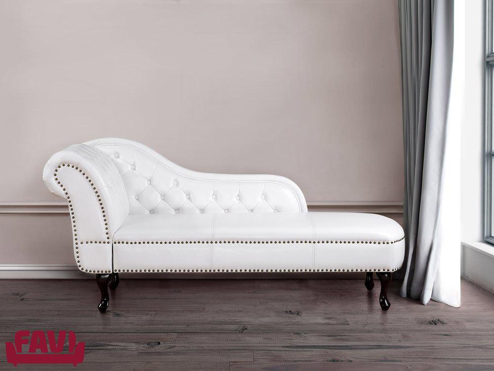 biała sofa- skóra naturalna