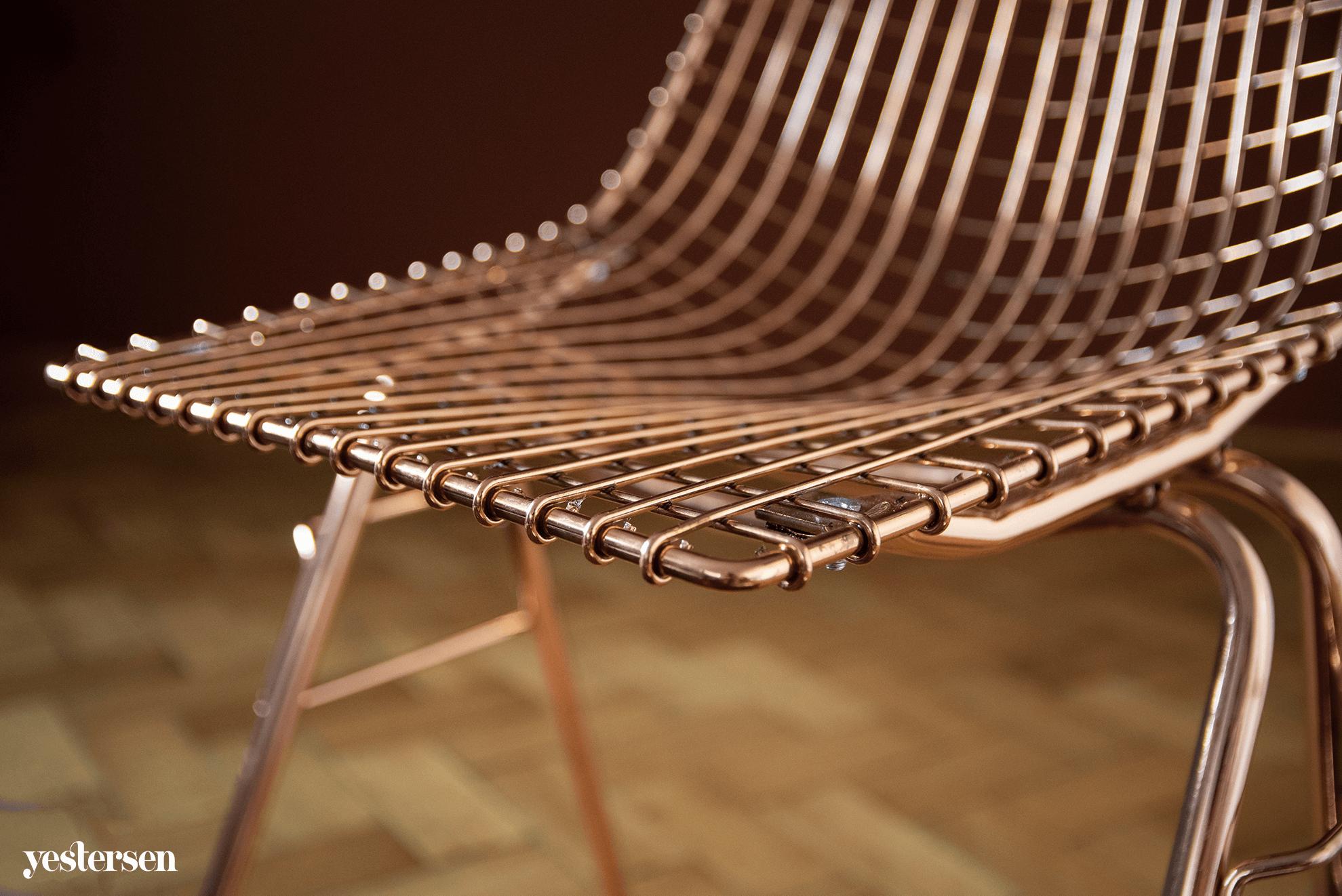 kolor-miedziany-krzesło.