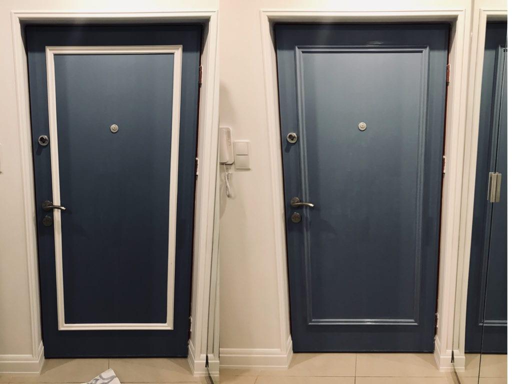 metamorfoza drzwi wejściowych