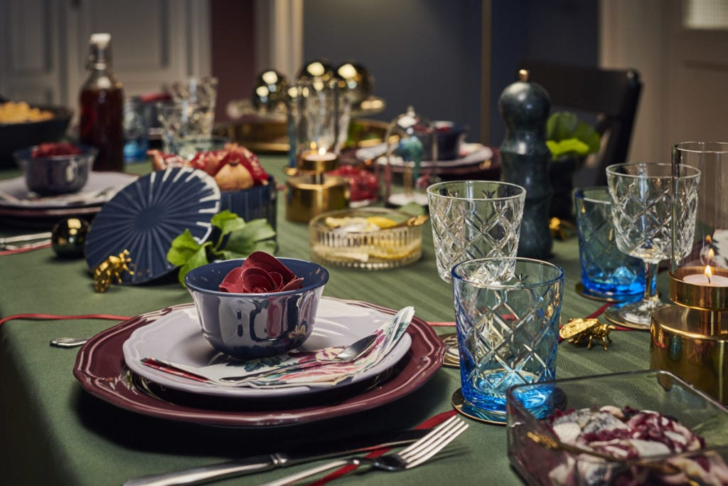 stół wigilijny eklektyczny