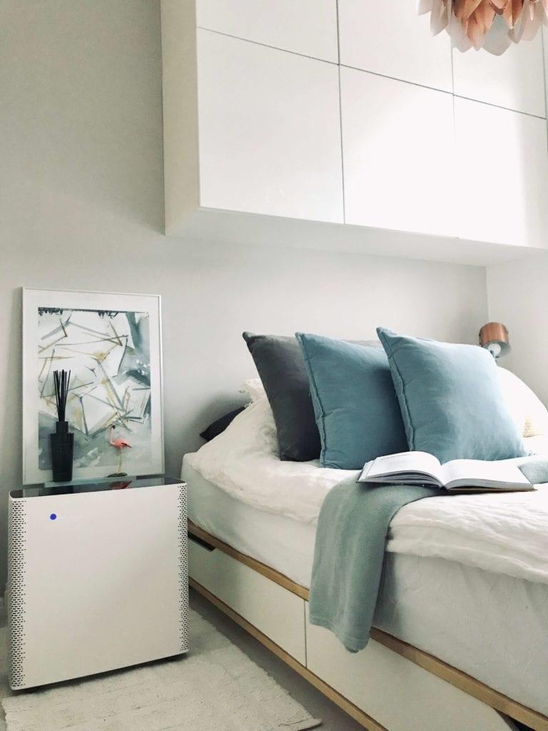 Oczyszczacz powietrza sypialnia