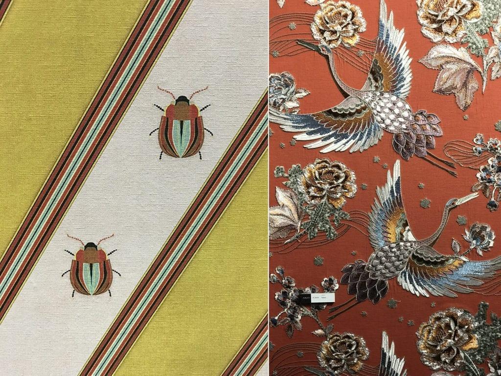 dekoracje tapeta w owady i ptaki