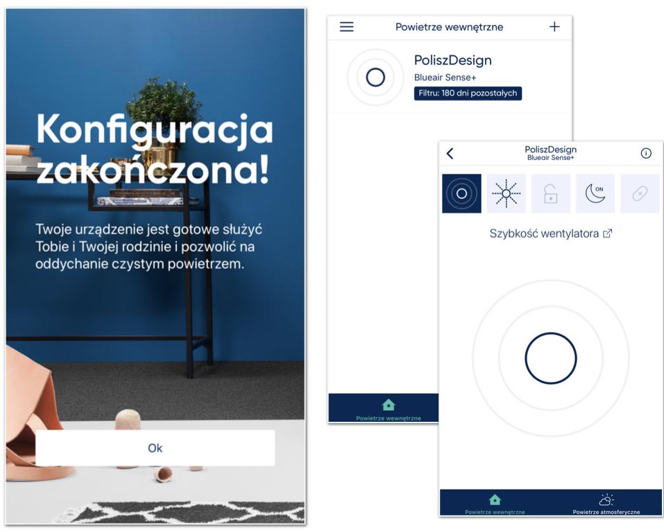 Oczyszczacz powietrza_aplikacja