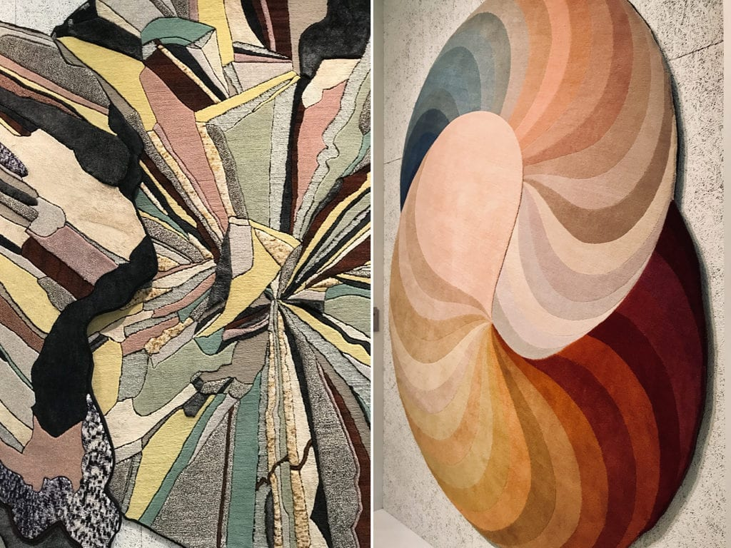 dywany kolorowe geometryczne