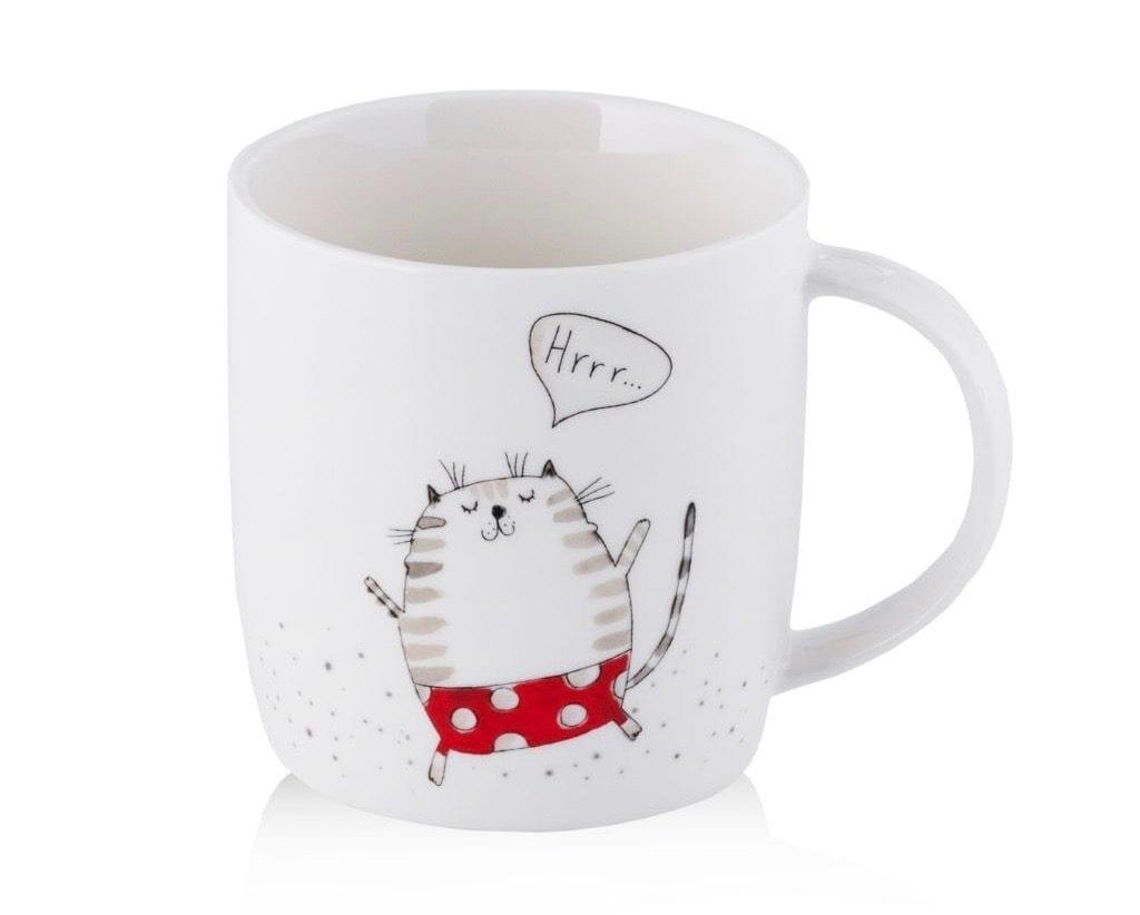 kubek do herbaty z kotem