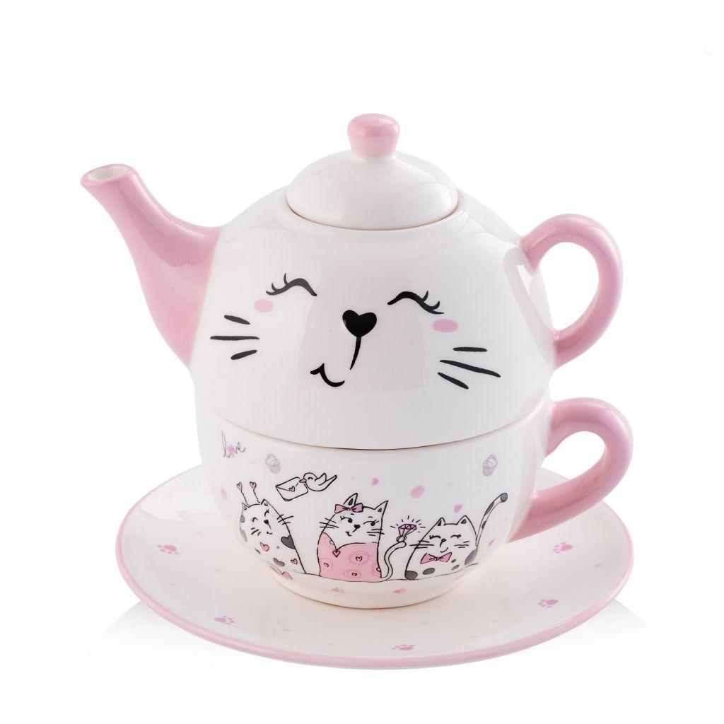 zestaw do herbaty dla dziewczynki