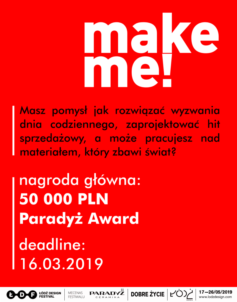make me! plakat