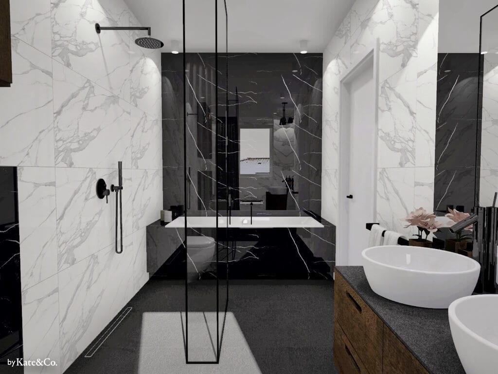 salon kąpielowy wanna