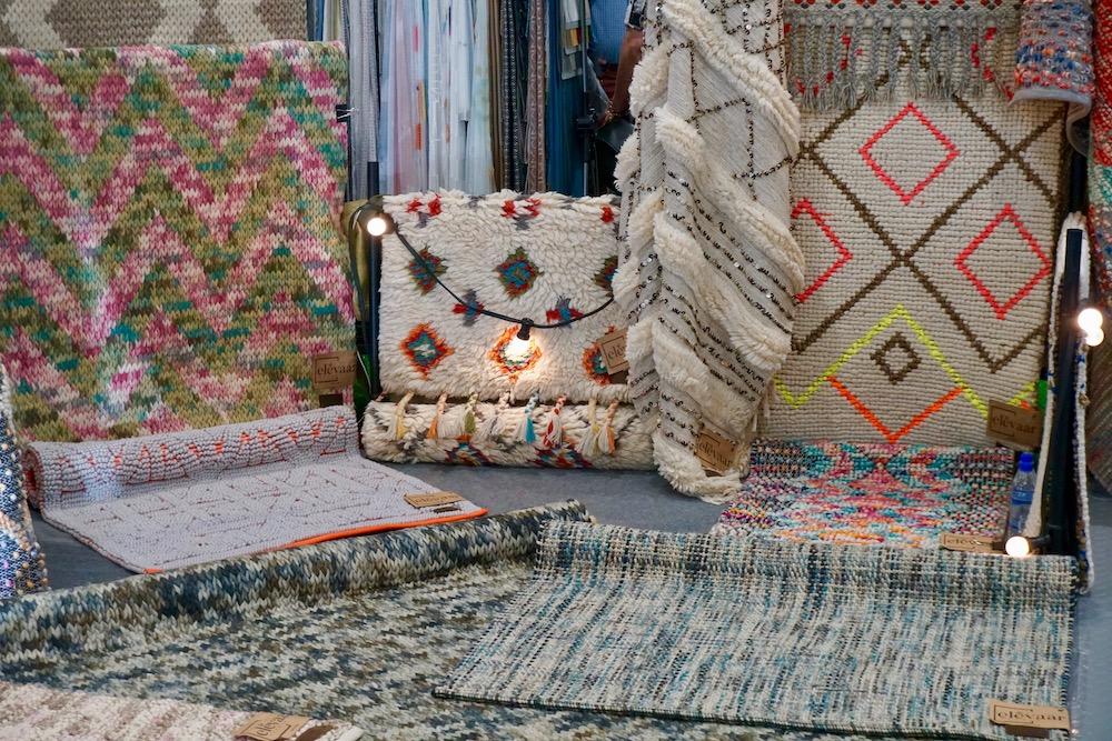 dywany wyplatane ręcznie