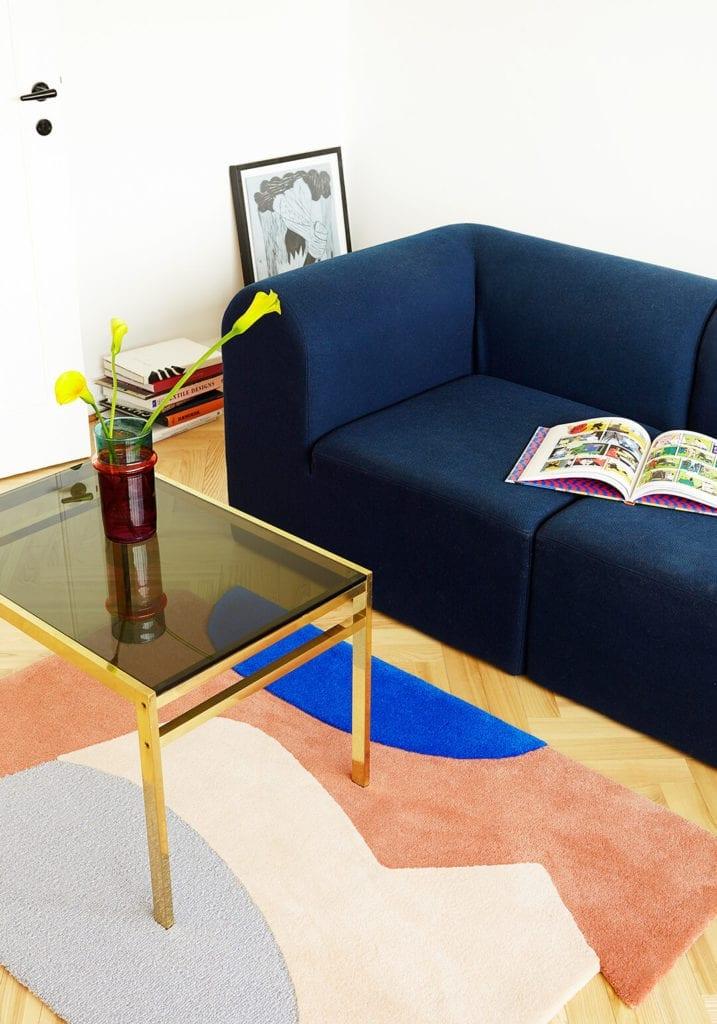 Kolekcja dywanów wykonanych w technice tuftingu- Posé Posê