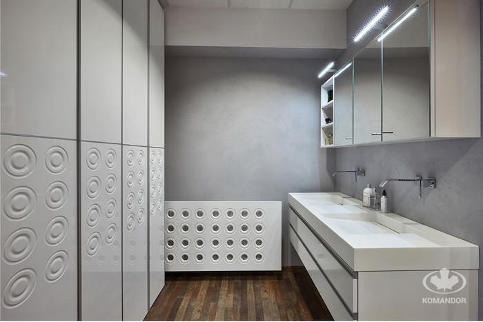 szafa na wymiar w łazience