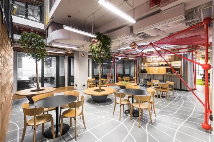 Coworking Brian Embassy mode:line najlepsze biuro kawiarnia
