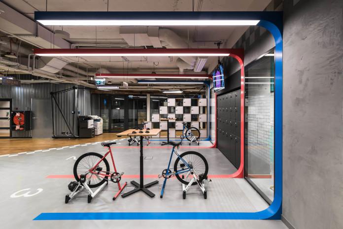 Coworking Brian Embassy mode:line najlepsze biuro rowery