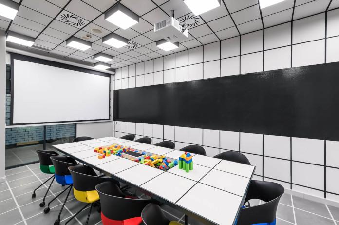 Coworking Brian Embassy mode:line najlepsze biuro minimalistyczne białe czarne