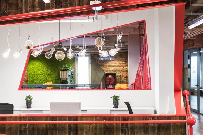 Coworking Brian Embassy mode:line najlepsze biuro recepcja inspiracje mózgiem
