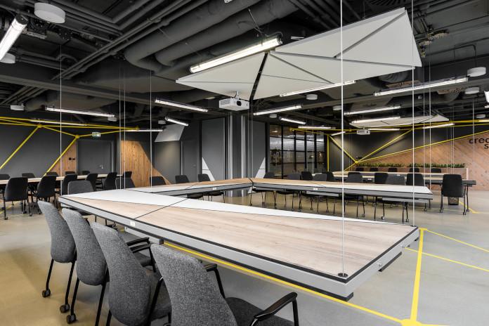 Coworking Brian Embassy mode:line najlepsze biuro wiszące stoły