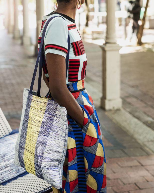 torba w stylu afrykańskim