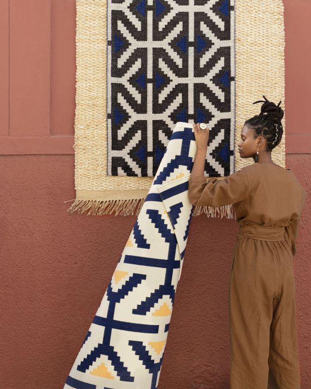 dywan w styluafrykańskim