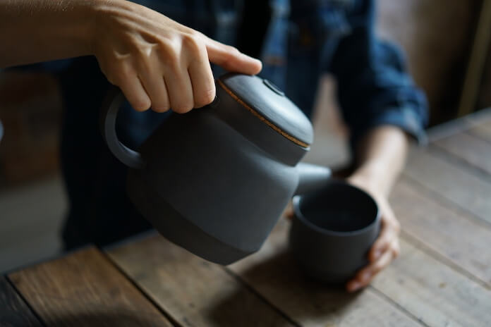 Porcelanowy dzbanek filiżanka japońska porcelana polska