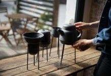 Porcelanowe naczynia zestaw do parzenia herbaty porcelana polska