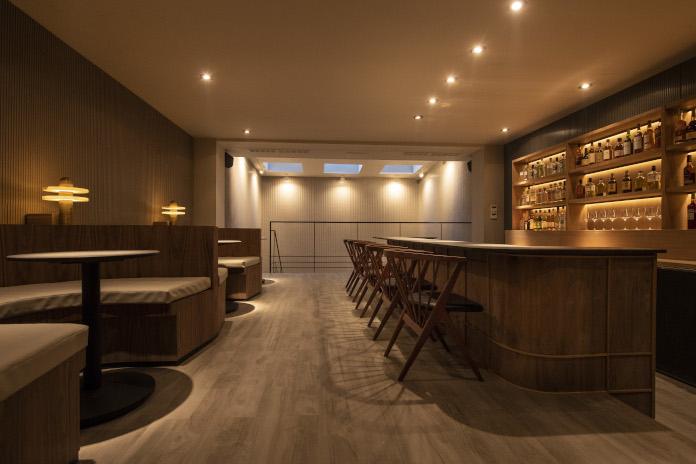 Aranżacja restauracji styl zen bar azja